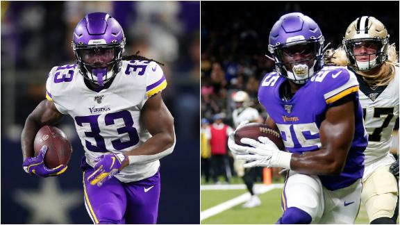 Will the Vikings rush back Cook, Mattison for playoff push?