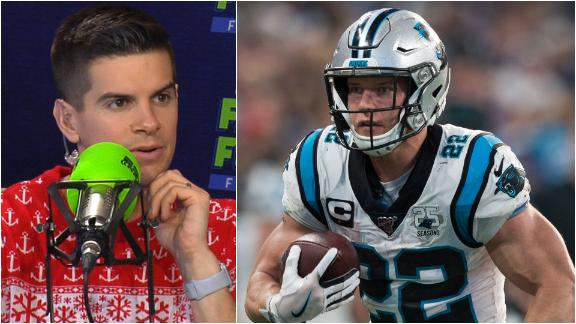 McCaffrey unaffected by Panthers' shaky QB play