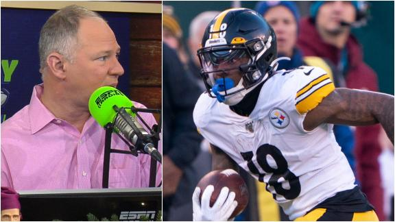 Berry: Diontae Johnson is a better option than JuJu