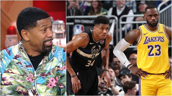 Jalen takes Giannis over LeBron for this year and the next 5