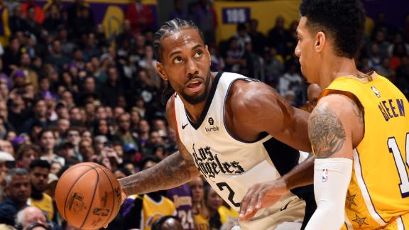 Kawhi drops 35 to lead Clippers to Christmas Day win