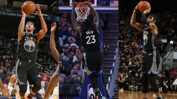 D-Lo, Draymond, Lee power Warriors on Christmas Day