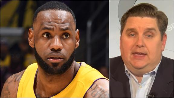 Windhorst expects LeBron to miss time to heal groin injury