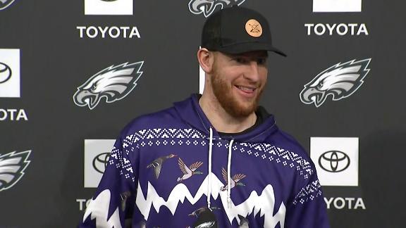 Wentz explains unique sweater