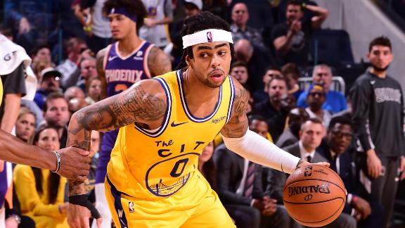 D-Lo drops 31 points in Warriors' comeback win