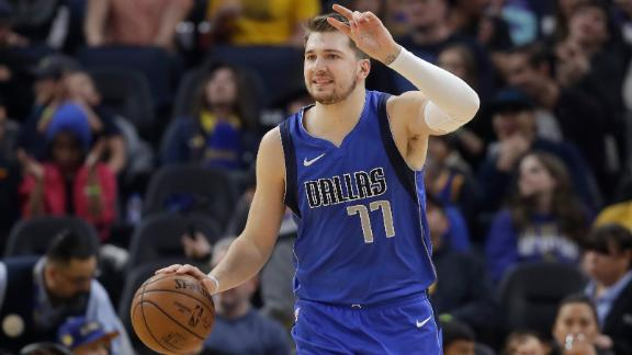 Doncic posts monster triple-double vs. Warriors