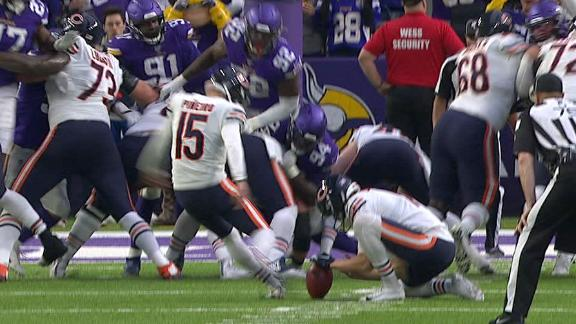Pineiro nails game-winning field goal for Bears