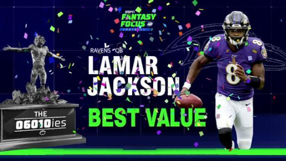 Jackson named the fantasy value of the season