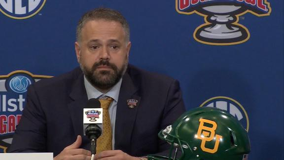 Rhule planning to be with Baylor in 2020