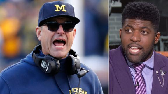 Acho wants Michigan to move on from Harbaugh