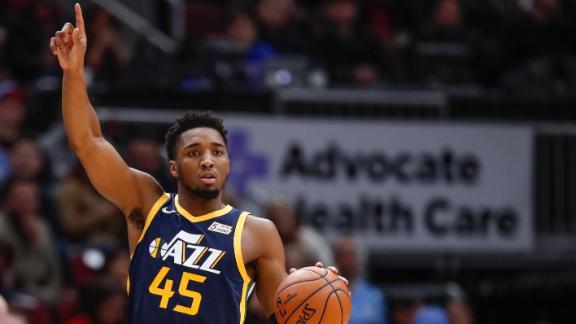 Mitchell, Gobert lead Jazz past Bulls