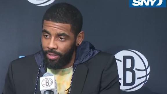 Kyrie on injury: 'It's disheartening'