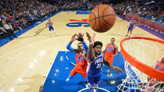 Sixers balanced scoring attack leads to win over Thunder