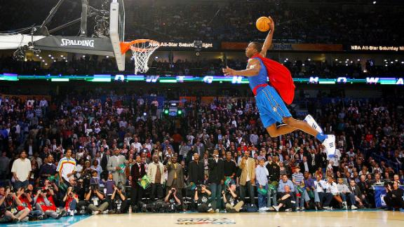 The time Dwight Howard went full Superman to win dunk contest