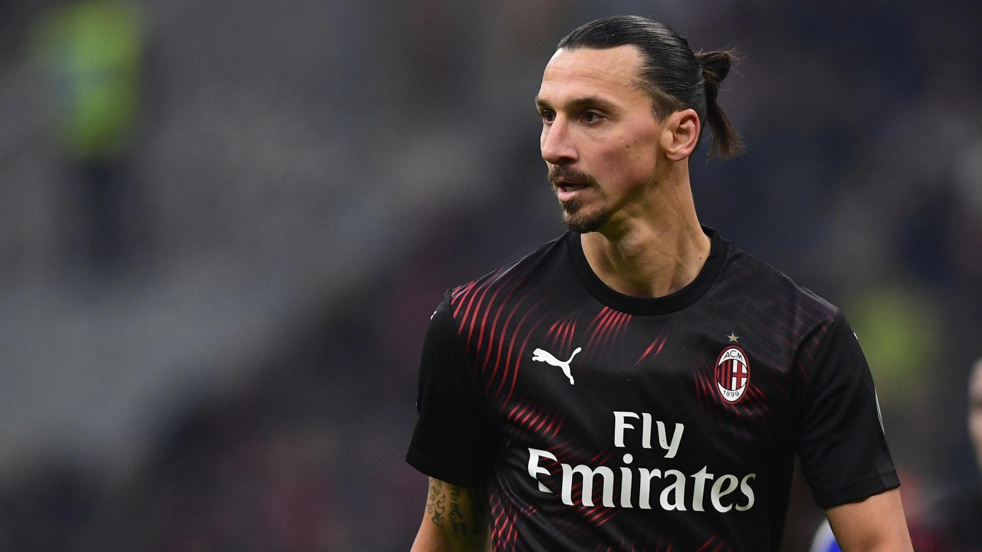 San Siro erupts as Zlatan subs on for Milan