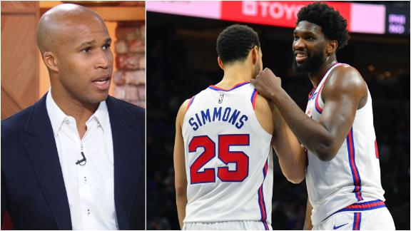 Jefferson: 76ers don't have anyone that bonds them together