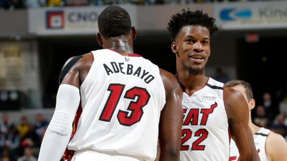 Bam, Butler fuel Heat to victory