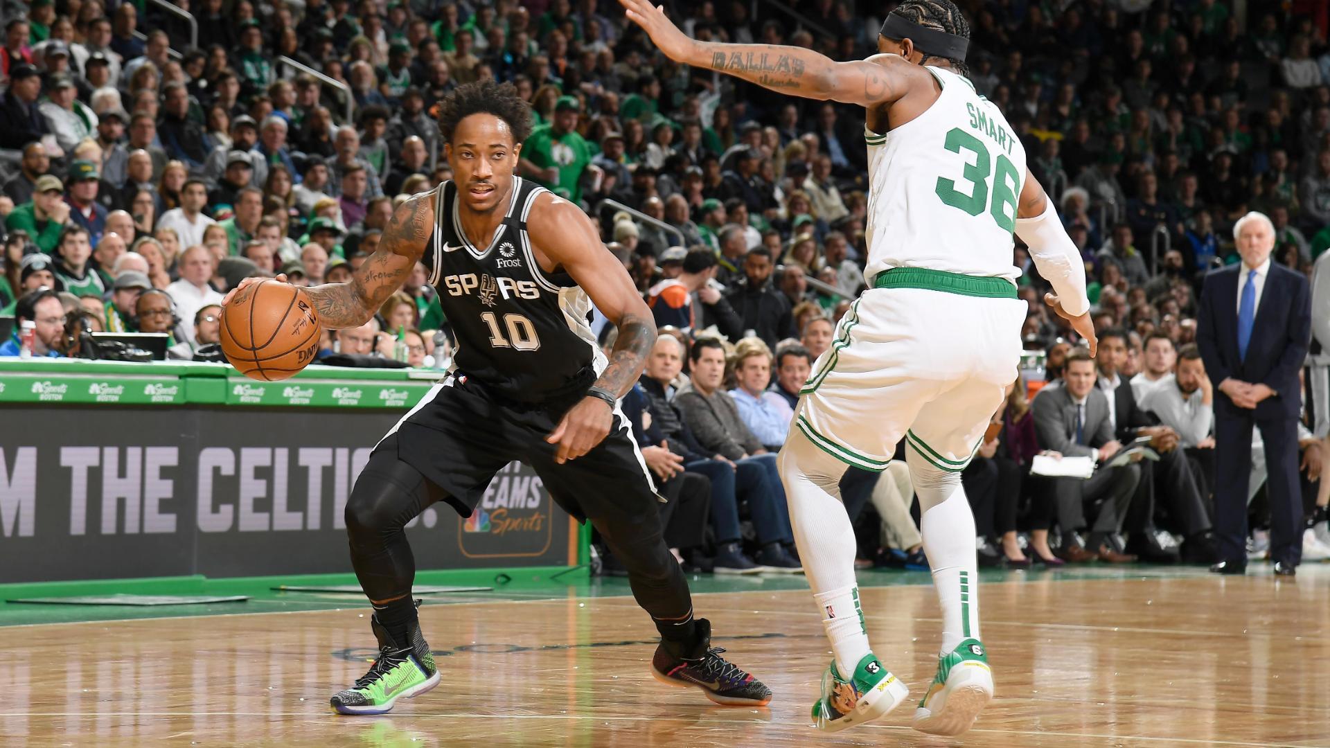 DeRozan drops 30 points in win vs. Celtics