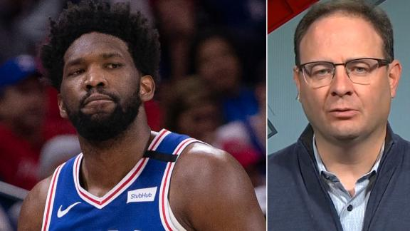 Woj: Embiid, 76ers elect for him to have surgery