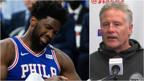 Brown: 76ers need to 'recalibrate' after Embiid's injury