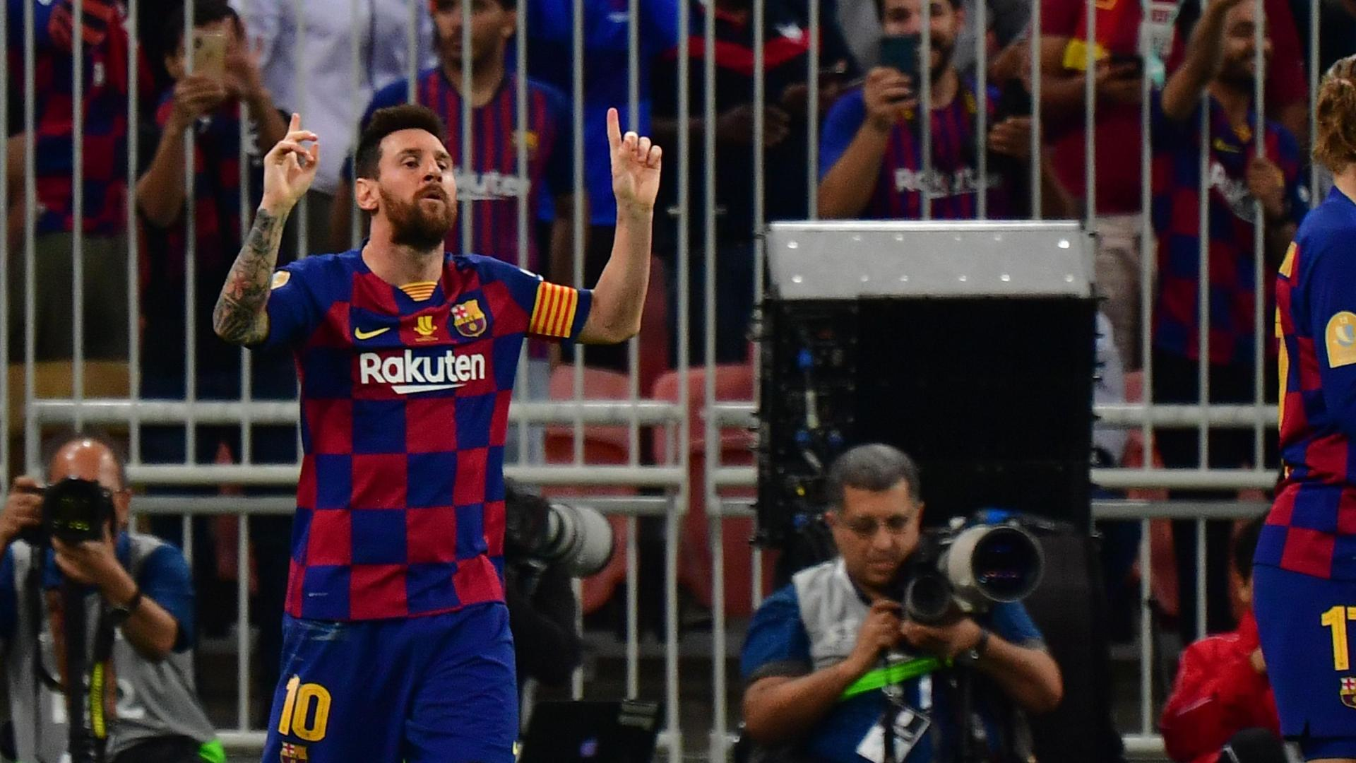 Lionel Messi equalizes for Barcelona