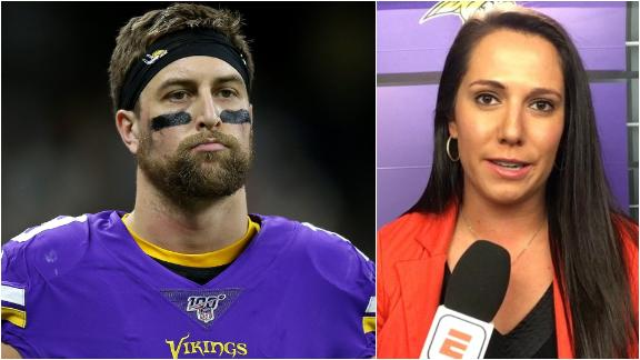 Vikings don't anticipate Thielen's injury keeping him out against the 49ers