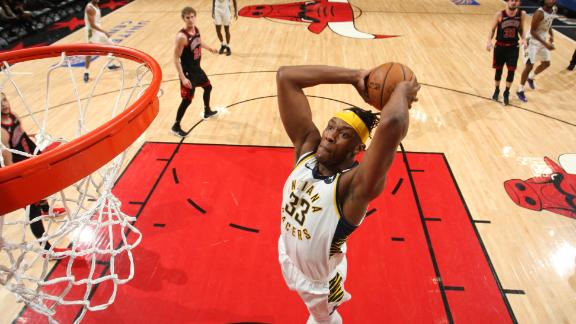 Turner's double-double powers Pacers' win