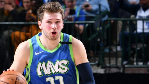Luka overcomes shooting woes with 12-assist night