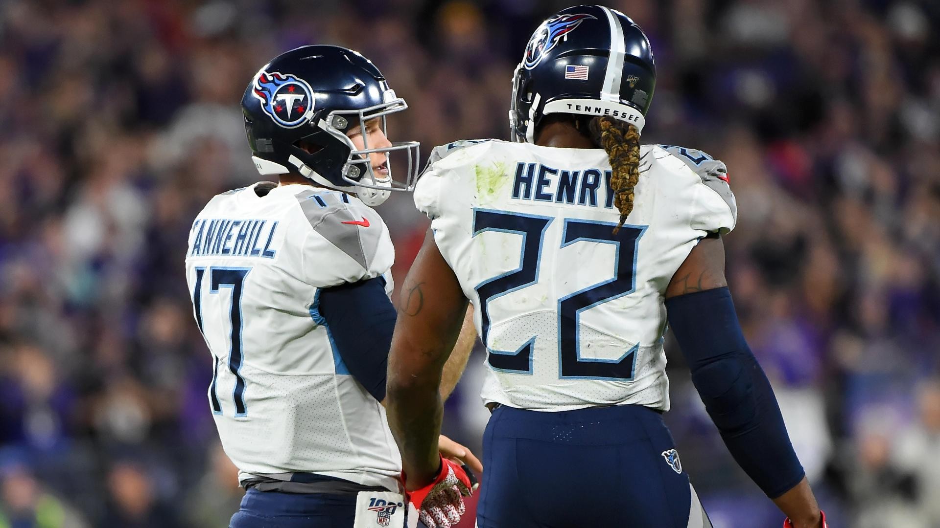 Henry and Tannehill lead Titans to AFC Championship