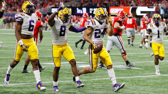 Stingley has tools to be best in LSU history