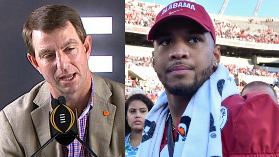 Swinney would take Tua if he was in the NFL