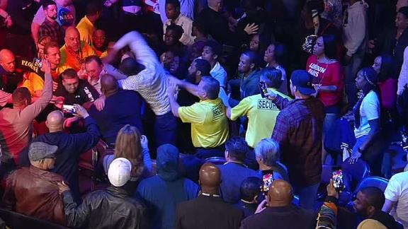 Massive brawl breaks out in Atlantic City boxing crowd