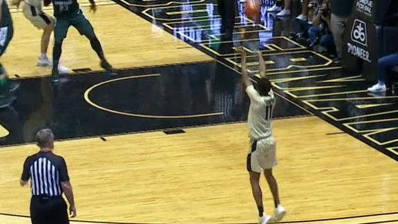 Thompson buries a 3 as Purdue starts the game hot