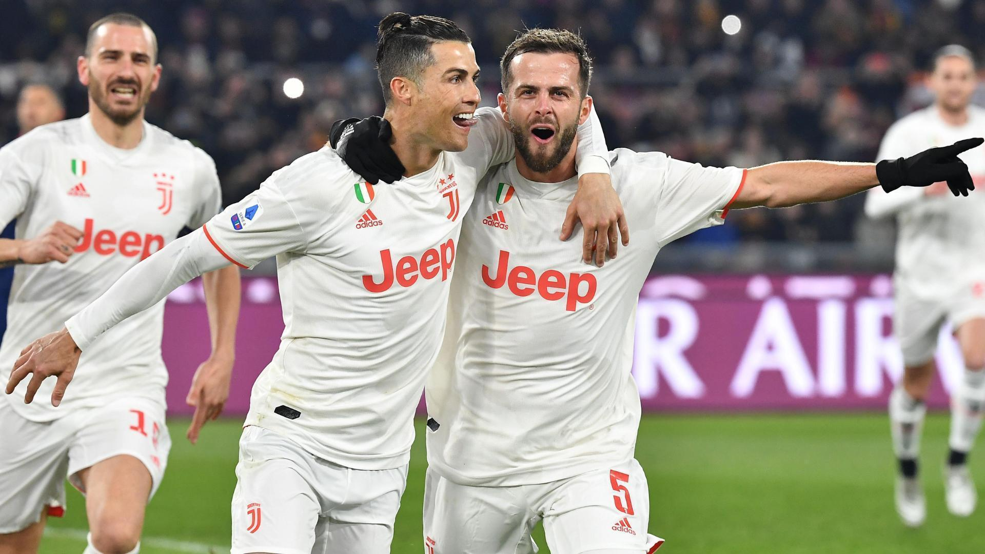 Ronaldo scores in sixth-straight Serie A game for Juventus