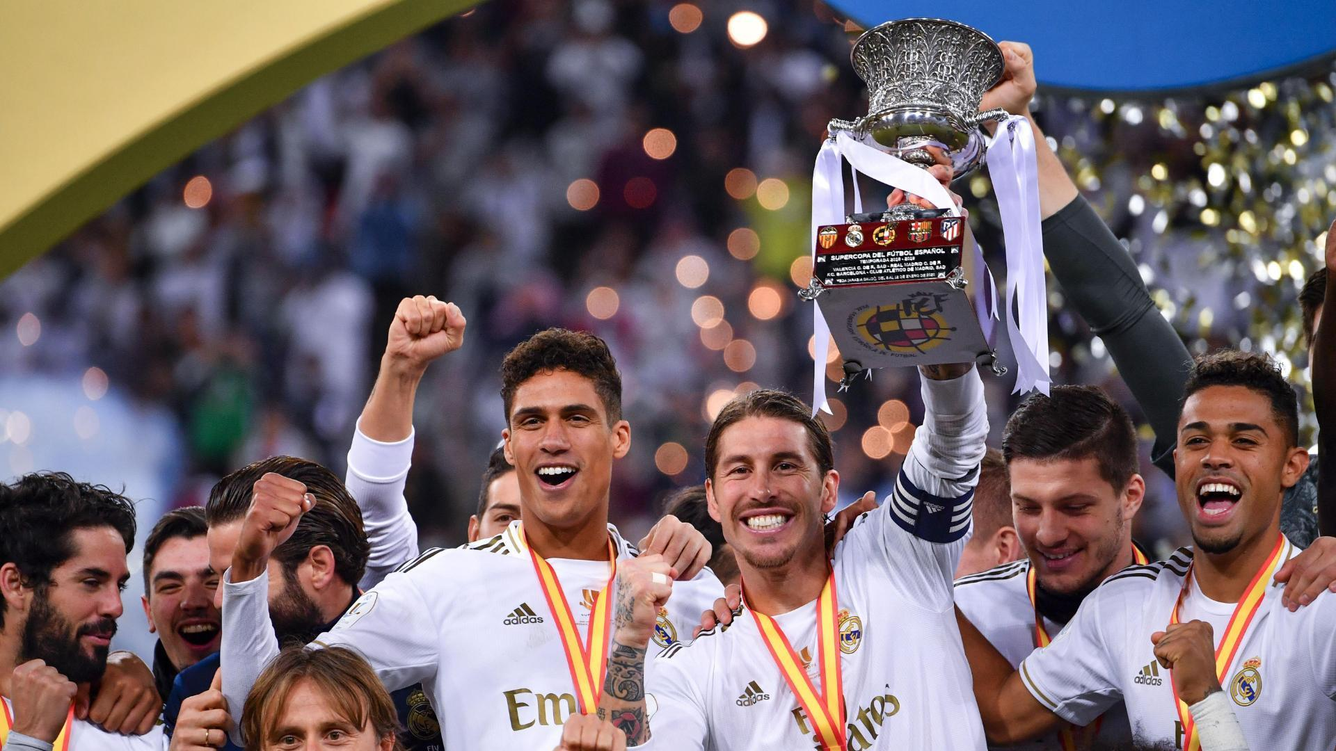 Real Madrid win Supercopa on penalties