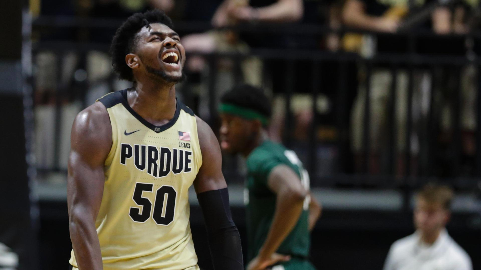 Williams scores, flexes as Purdue pours it on Michigan State