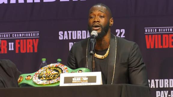 Wilder: I might pull a WWE move on Fury