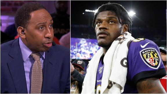 Stephen A.: Lamar wasn't perfect, but he wasn't to blame