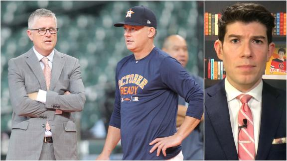 Astros undergoing an enormous change after firing Hinch, Luhnow