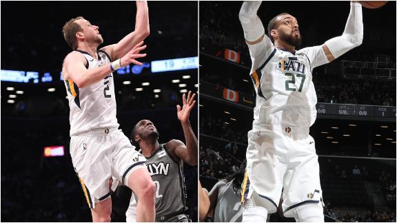 Ingles and Gobert lead Jazz to win