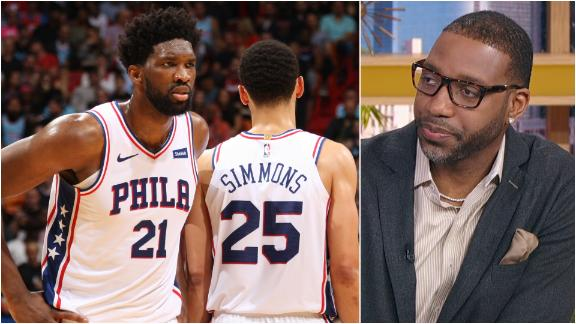 McGrady: Sixers don't have what it takes without Embiid