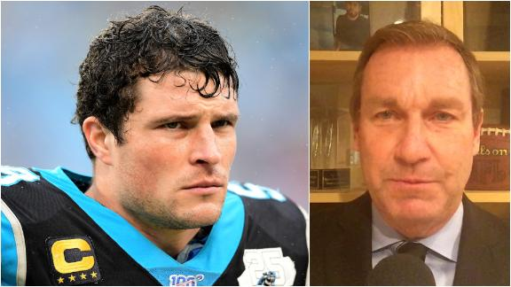 Newton: Concussions wreaked havoc on Kuechly's career