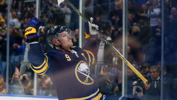 Eichel's end-to-end rush sparks Buffalo's win over Vegas