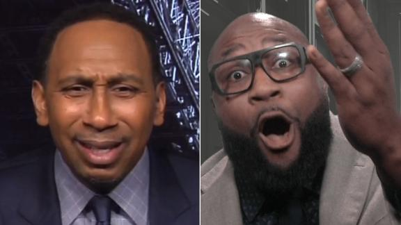 Stephen A., Spears' Cowboys debate gets heated