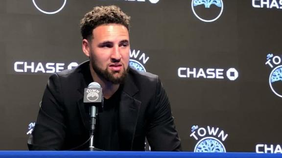 Klay wants to be patient with his rehab