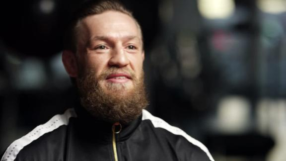 McGregor abstaining from drinking, '100 percent fully focused'
