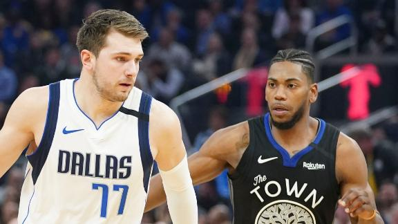 Doncic drops 20 points in Mavs' rout
