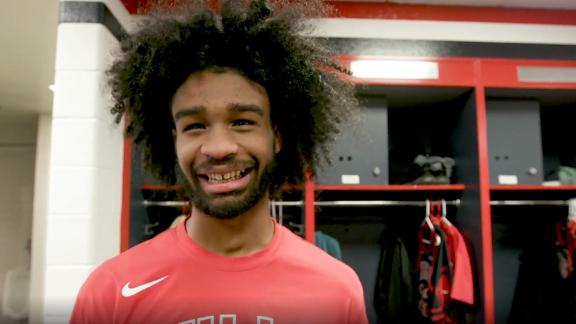 Coby White talks about his pregame ritual