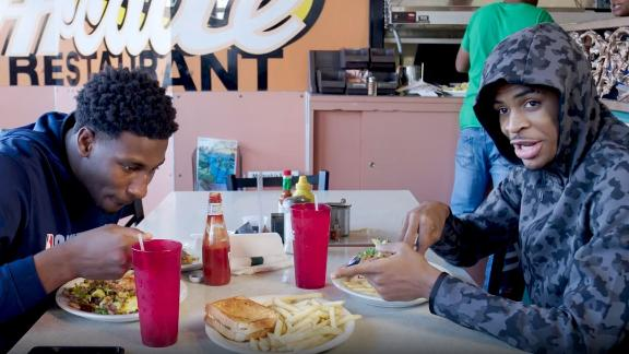Ja Morant checks out Elvis Presley's favorite sandwich