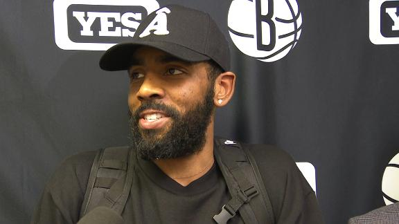 Kyrie: It's glaring we're missing a big piece here